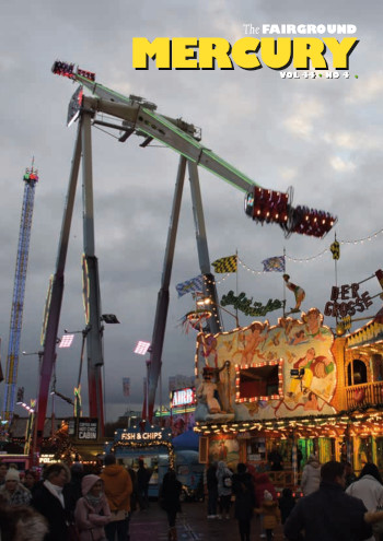 Image showing the cover of The March Edition of the Fairground Mercury